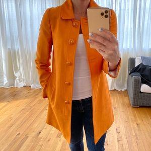 Banana Republic Orange Coat